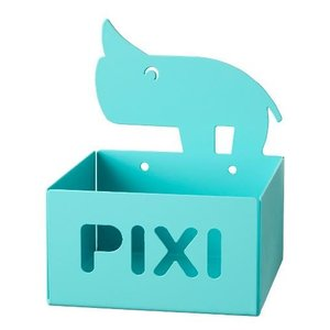 Done by Deer metal storage container Pixi turquoise