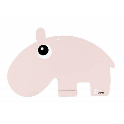 Done by Deer Chalkboard hippo pink