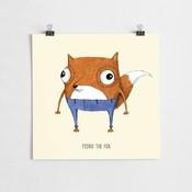 A Grape Design poster fox Pedro