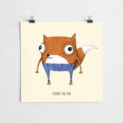 A Grape Design poster Fuchs Pedro