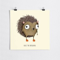 A Grape Design poster Igel Alice