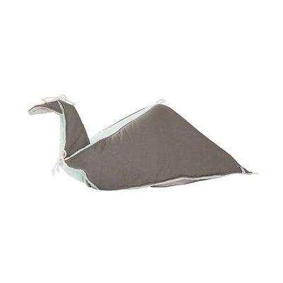 Fabelab Spielen Decke gefaltet Vogel Jade
