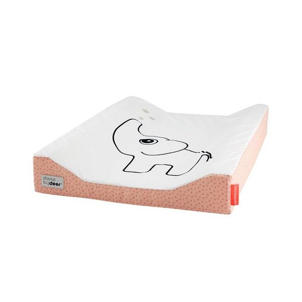 changing pad elephant powder happy dots