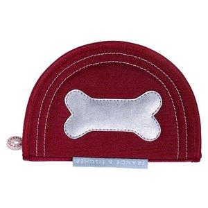 Franck & Fischer pencil case dog bone in red