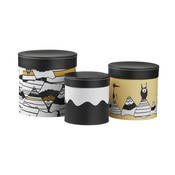Kid's Concept sturdy storage boxes, set of 3