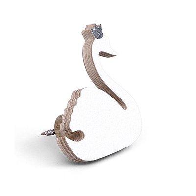 Thats Mine Coat Hook white swan