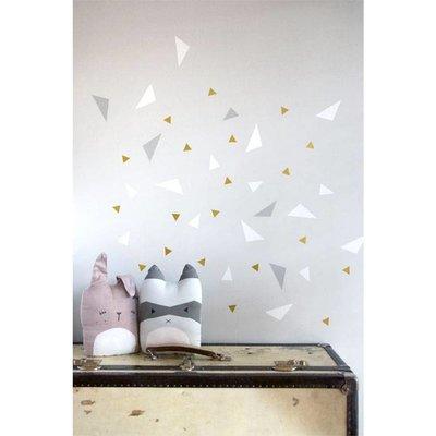 Fabelab Wand-Aufkleber spielerisch Dreiecke