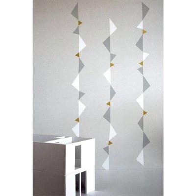 Fabelab muurstickers playful triangles
