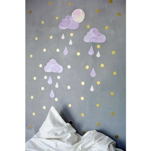 Fabelab wall stickers dreamy clouds twilight
