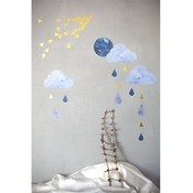 Fabelab muurstickers dreamy clouds nightfall