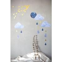 Fabelab muurstickers dreamy clouds nightfall