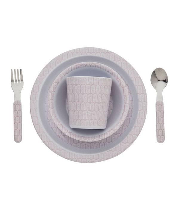 Filibabba melamine children dinnerware set Indian dusty rose  sc 1 st  ScandinaviëXS & Filibabba melamine children dinnerware set Indian dusty rose ...