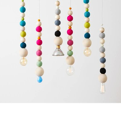 Aveva Design WOW pendant light pastel
