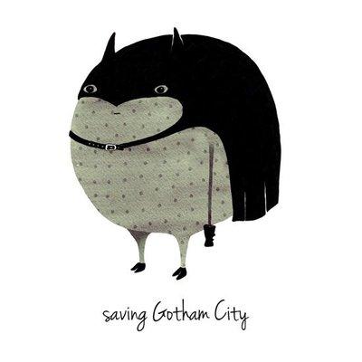 A Grape Design Plakat batman Gotham City