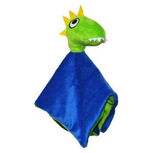 Lipfish knuffeldoek dinosaurus