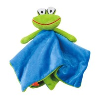 Lipfish Schmusetuch Frosch, blau
