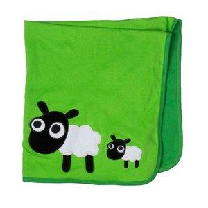 Lipfish speeldeken groen met schapen