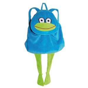 Lipfish backpack frog blue