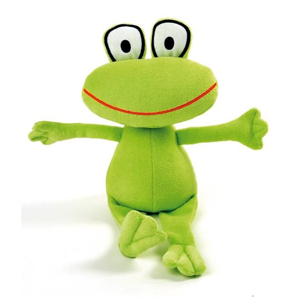 plush frog Janne