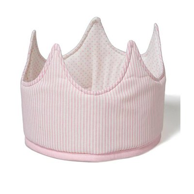 Oskar en Ellen dress up hat crone pink