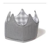 Oskar en Ellen verkleedmuts grijze kroon