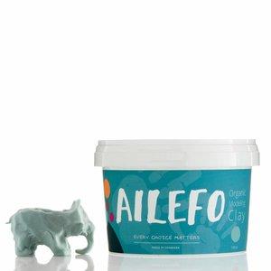 Ailefo blauen Play-Doh in einen Eimer, 540 g