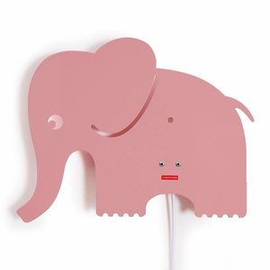 Roommate lamp elephant pink