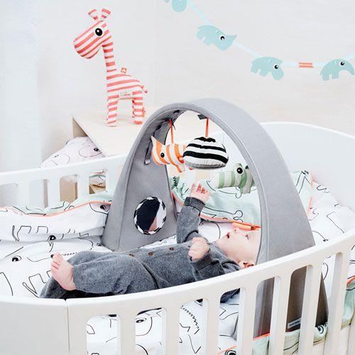 Skandinavisches Babyzimmer