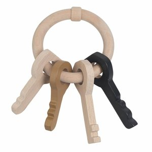 Nofred wooden key ring curry