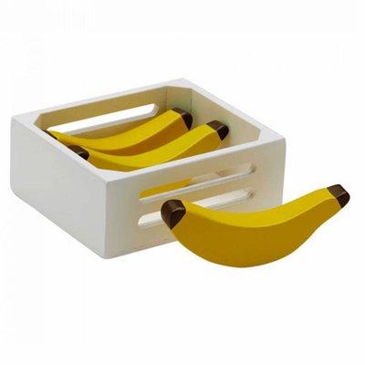 Kids Concept Houten speelgoed bananen in kistje Kids Concept