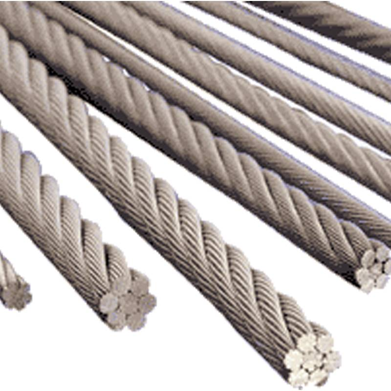 Wire rope 16mm GR 2160 MBL=270kN - ZOJO-Parts BVBA