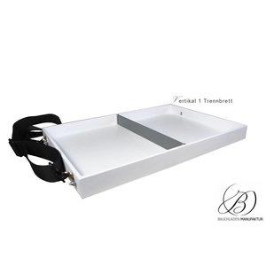 Bauchladen Vassoio mit Trennfach: Größe M