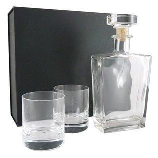 Karaf met 2 tumbler glazen, 1x 0,7 liter en 2x 320ml