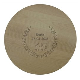 Draaiplateau van beuken, 40cm rond