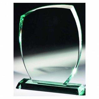 Glazen trofee, 220x160x15mm