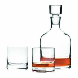 Whiskeykaraf met 2 whiskeyglazen
