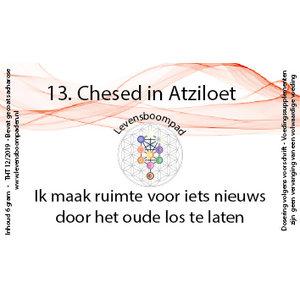 Levensboompaden 13 Chesed in Atziloet