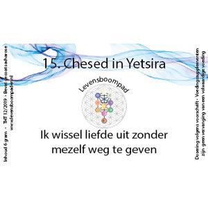 Levensboompaden 15 Chesed in Yetsira