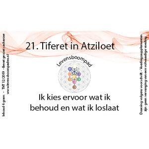 Levensboompaden 21 Tiferet in Atziloet