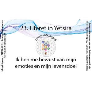Levensboompaden 23 Tiferet in Yetsira