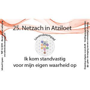 Levensboompaden 25 Netzach in Atziloet