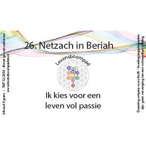 Levensboompaden 26 Netzach in Beriah