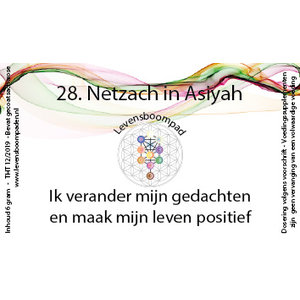 Levensboompaden 28 Netzach in Asiyah