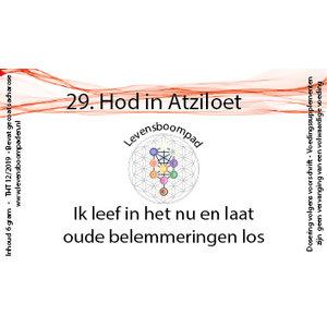 Levensboompaden 29 Hod in Atziloet