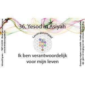 Levensboompaden 36 Yesod in Asiyah
