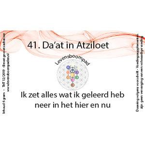 Levensboompaden 41 Da'at in Atziloet