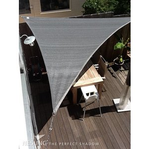 Nesling Coolfit schaduwdoek driehoek 90 ° 4 x 4 x 5.7