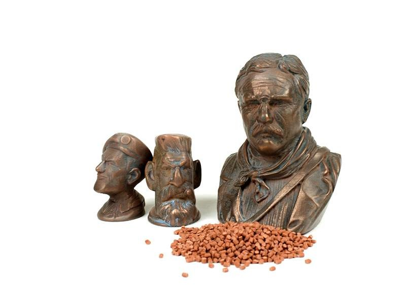 ColorFabb CopperFill 750 gr