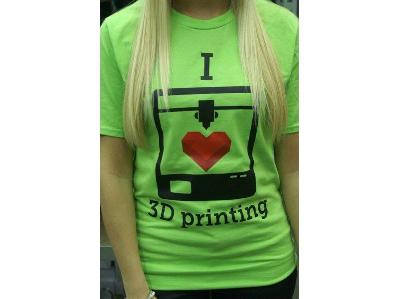 I love 3D printing - t-shirt