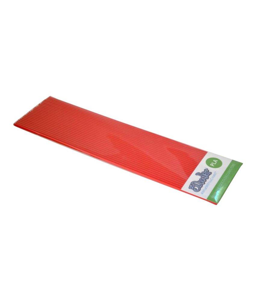 3Doodler Chili Pepper Red Pack PLA